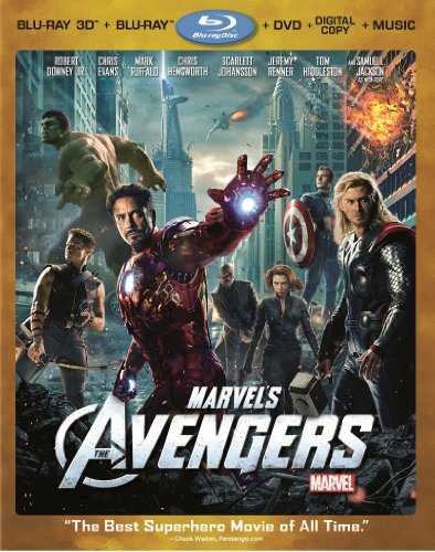 Marvel's The Avengers (Four-Disc Combo: Blu-ray)