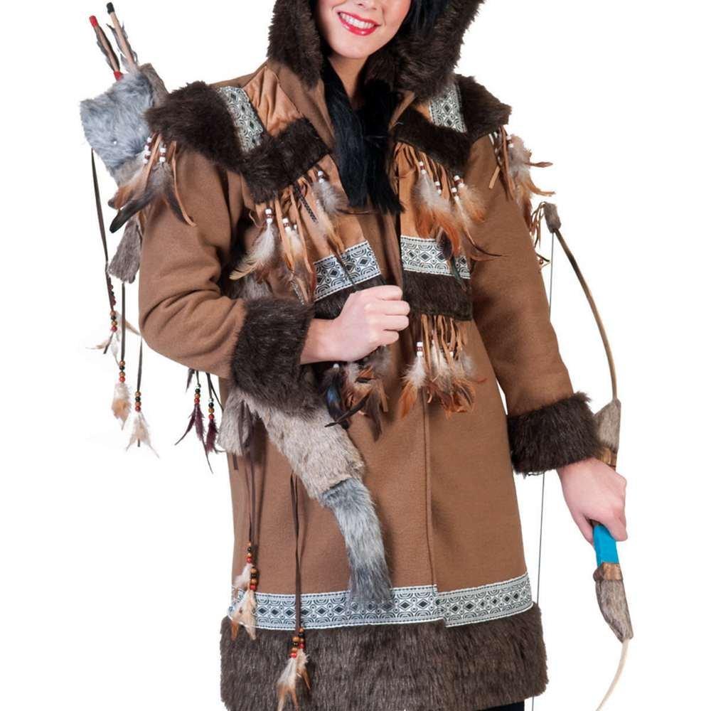 Amazon.com: Disfraz de esquimal mujer adulto, L: Toys & Games