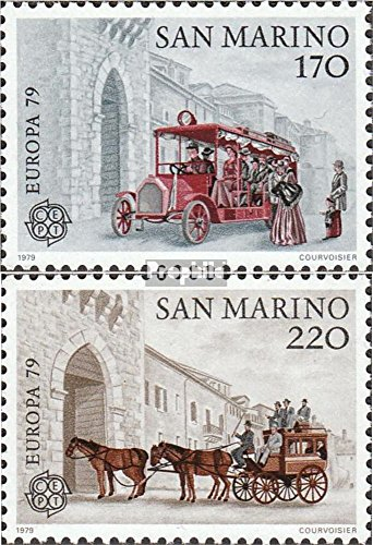 San Marino 1172-1173 (Complete.Issue.) 1979 Post- and Telecommunications (Stamps for Collectors) -