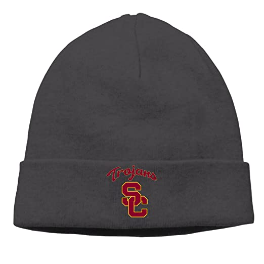 447aaa10c Amazon.com: Usc Trojan Football Logo Beanie Watch Cap Ski Hat: Clothing