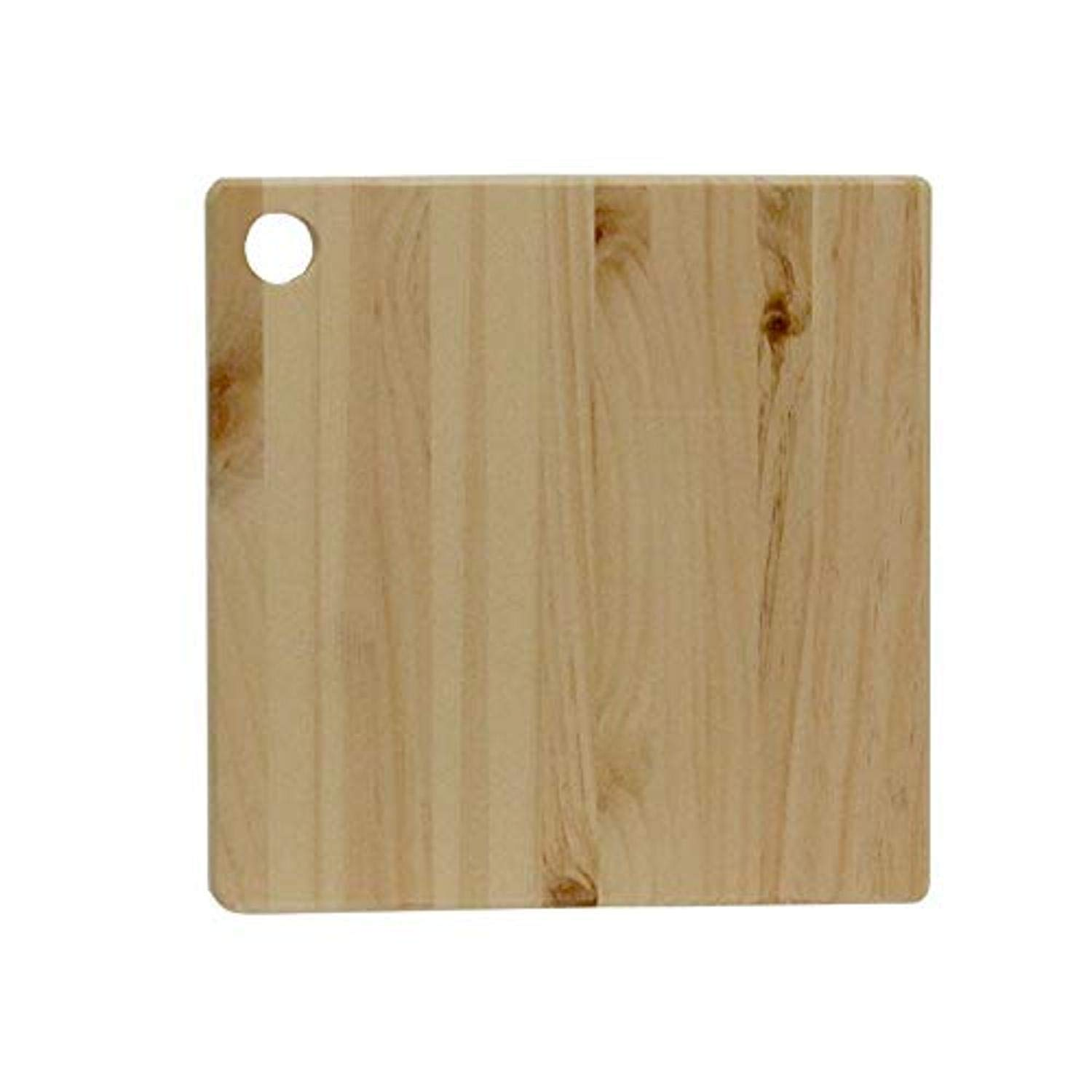 Circle Walnut Hollow Unfinished Pine Serving Board for Arts /& Crafts Display