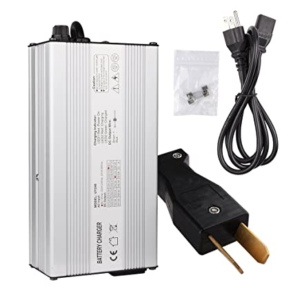 Amazon.com: Ezgo Charger, Enk 36 Volt 5 Amps Golf Cart Charger with on