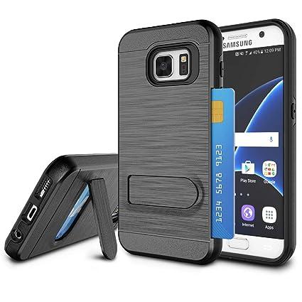 Amazon.com: Galaxy S7 caso, S7 Cubierta titular de la ...