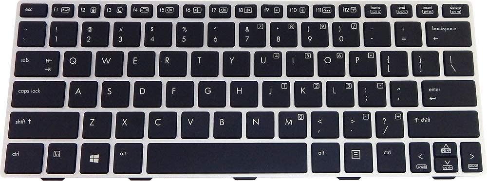 HP Revolve 810 G1/G2 Backlit US Keyboard 716747-001 706960-001