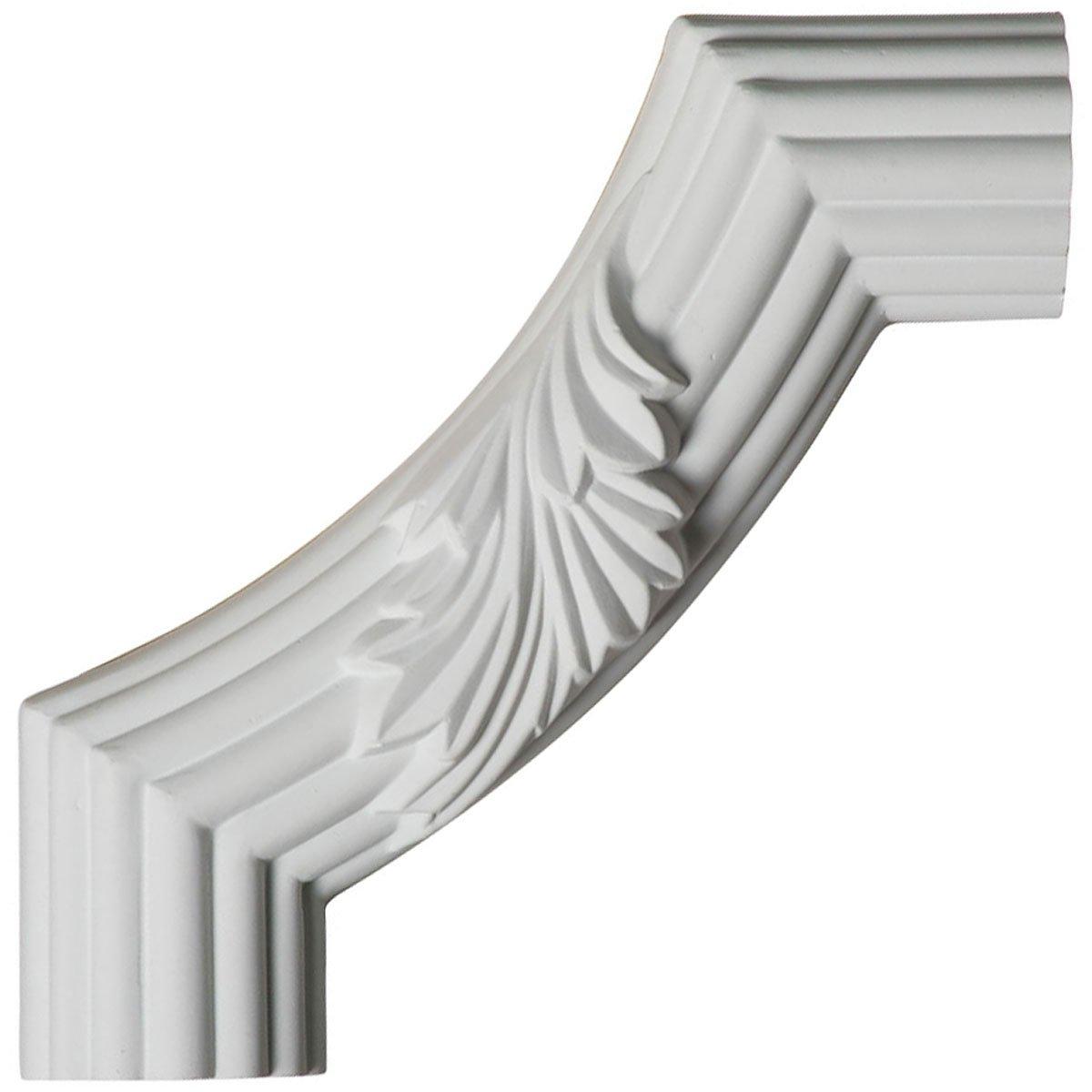 , Ekena Millwork PML28X28LO-CASE-4 28 inch W x 28 inch H x 3//4 inch P Loera Panel Moulding Corner 4-Pack