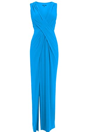 Coast Ex Mona Maxi Dress Turquoise Blue Party Cocktail Ball Prom Formal Evening (16)