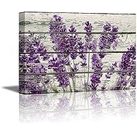 Wall26 Canvas Prints Wall Art - Retro Style Purple...