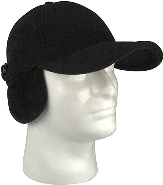 amazon black polar fleece cold weather low profile baseball cap with clothing hat big ears cat minnie