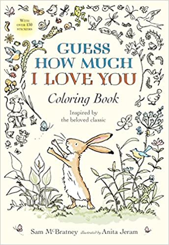 Amazoncom Guess How Much I Love You Coloring Book 9780763694678