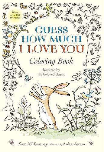Guess How Much I Love You Coloring
