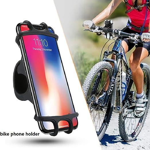 GCDXDL Bicicleta Soporte para Teléfono - Bici De La Motocicleta De Teléfono Teléfono Celular Titular De Soporte del Manillar Soporte De Montaje Compatible para 4,0 A 6,3 Pulgadas del Teléfono: Amazon.es: Hogar