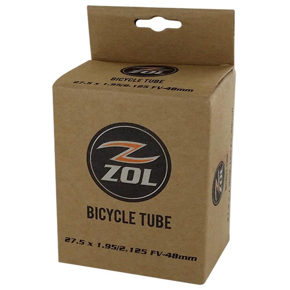 Zol Multipack Mountain Bike Bicycle Inner Tube 27.5''x1.95/2.125 PRESTA Valve48mm