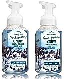 Bath & Body Works, Gentle Foaming Hand Soap, Fresh Sparkling Snow (2-Pack)