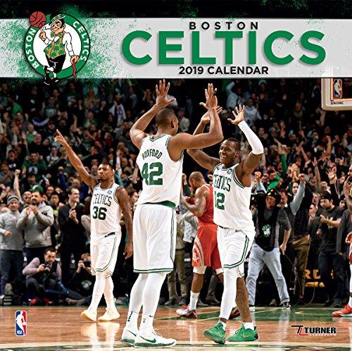Turner 1 Sport Boston Celtics 2019 12X12 Team Wall Calendar Office Wall Calendar (19998011870)