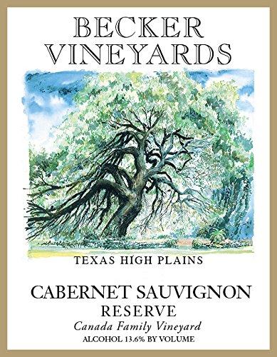 2014 Becker Vineyards Reserve Cabernet Sauvignon Canada Family Vineyard