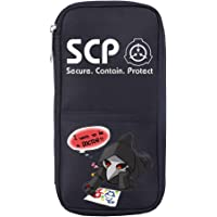 Pencil Case Anime SCP Foundation Cosplay Pencil Case, Office Supplies Stationery Bag Pen Holder Desk Organizer