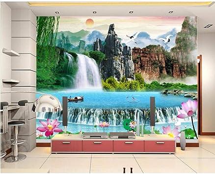 Amazon Com Pbldb Custom Landscape 3d Nature Wallpapers Bedroom Living Room 3d Wallpaper Walls 3d Stereoscopic Wallpaper Wall Papers Home Decor 150x120cm Furniture Decor