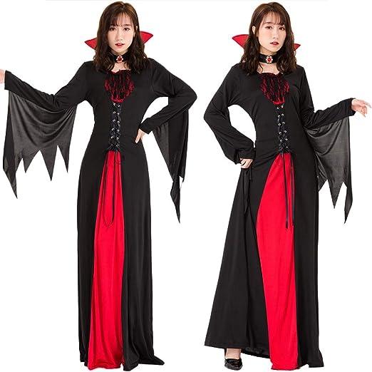 DXYQT Disfraces de Cosplay de Anime Disfraz de Mago Vampiro Rojo ...