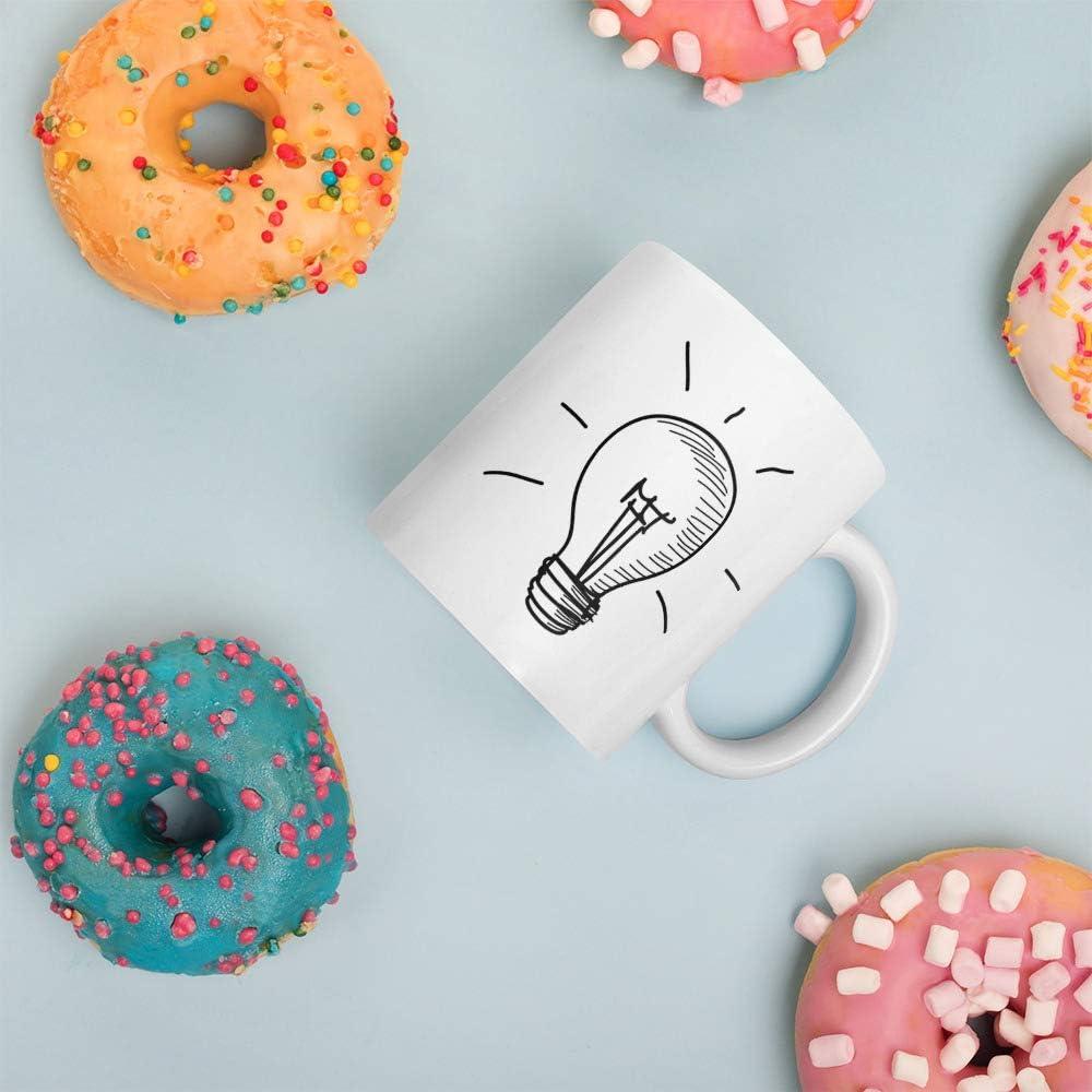 Taza con frase motivadora para despertar la creatividad: La ...
