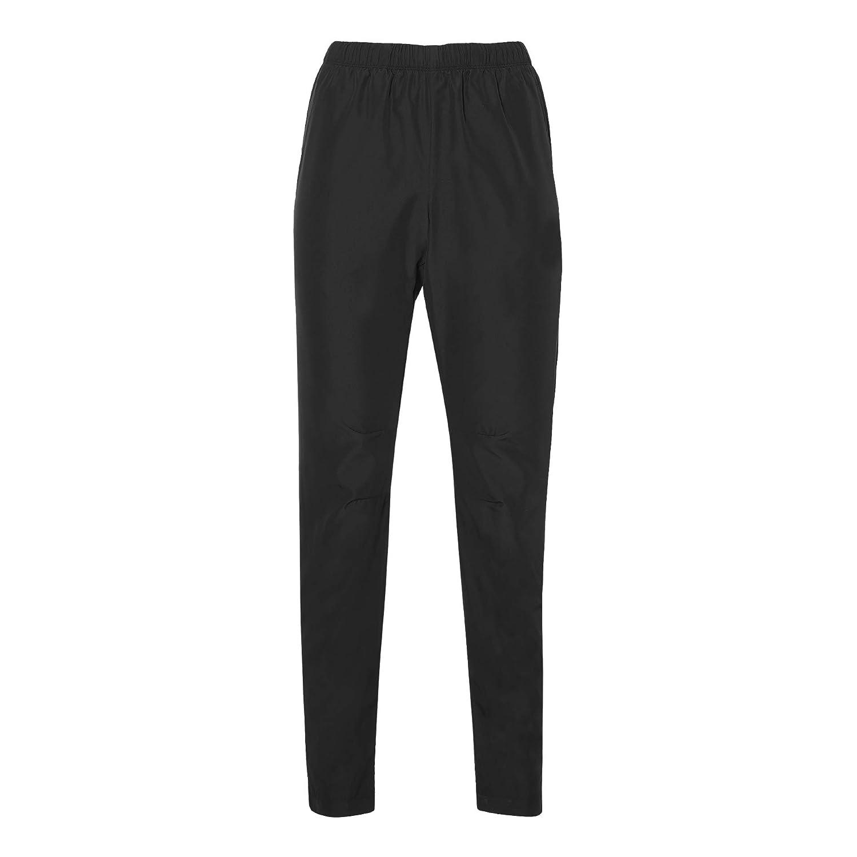 ASICS Damen Woven Pant Laufbekleidung Laufhose Schwarz - Xs