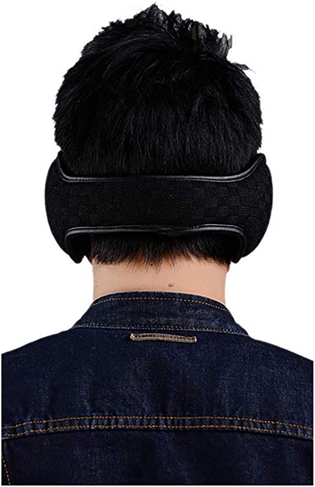 Queta Winter Ohrensch/ützer Innovativer Ear Cover H/ält die Ohren Warm im Winter Strickwolle Pl/üsch Earmuffs f/ür Damen und Herren Winter Ohrenw/ärmer Verstellbar Ohrensch/ützer