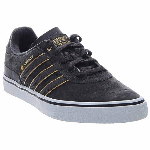Amazon.com  adidas Busenitz Vulc Carbon Carbon Metallic Gold Skate ... 3489750745
