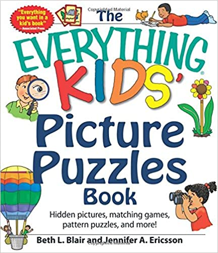 Libro PDF Gratis The Everything Kids' Picture Puzzle Book: Hidden Pictures, Matching Games, Pattern Puzzles, And More! (everything (r))