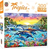 MasterPieces Tropics Sea of Eden Large 300 Piece EZ Grip Jigsaw Puzzle by Adrian Chesterman