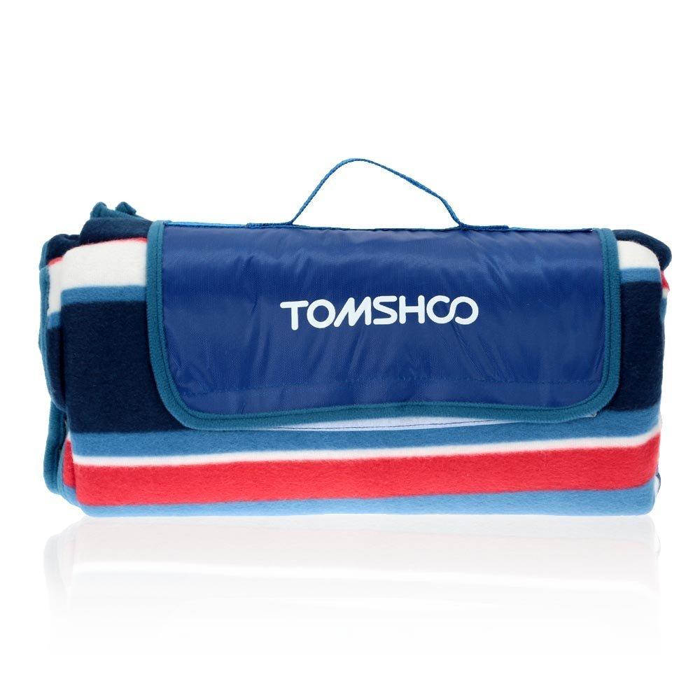 tomshoo 1pc 150 * 200 cm / 135 * 150 cmキャンピングマットアウトドアビーチピクニック防水Moistureproof赤ちゃん登るマットテントマット B01E8A3A22  ブルー 135*150cm