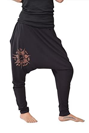 virblatt Pantalon Yoga Jogging Sarouel Femme Pantalon en Bambou - Agama 68f86104750