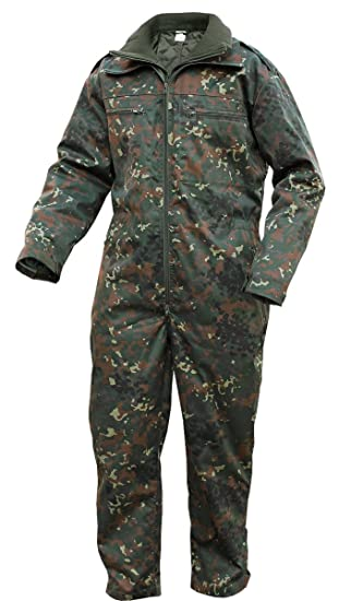 Brandit Mens Jumpsuit Panzerkombi, Color:flecktarn;Größe:XL