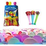 Mumoo Bear Water Balloons Self-Sealing for Kids Water Balloons Biodegradable Balloons Cannon Rapid Filling Fun Garden…