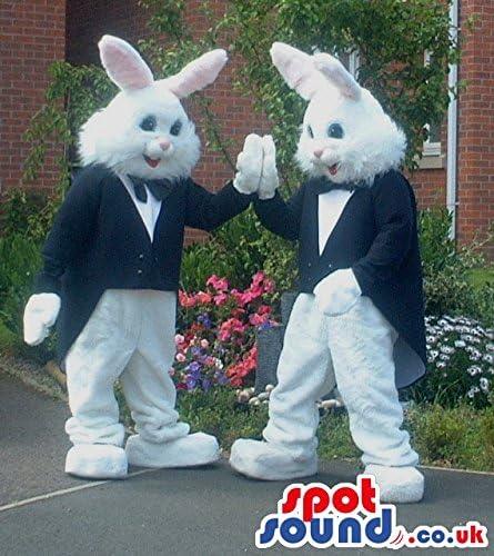 ブラックマジシャンジャケットと白いウサギのカップル
