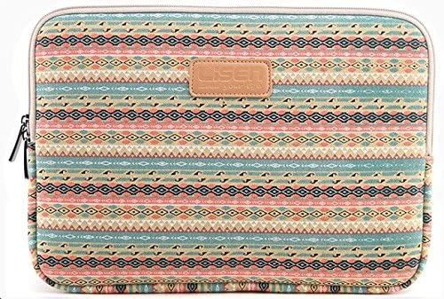 374d251eb879 Amazon.com: XSKN Canvas Fabric Bohemian Style Shockproof Laptop ...