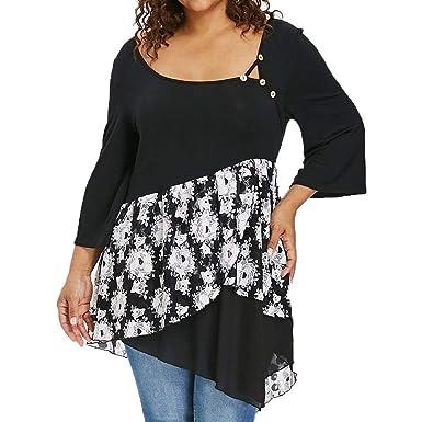 da5b6392734 Amazon.com  Casual Loose Sexy Shirts