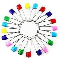 10 x Imperdibles Wicemoon para pañales, coloridos