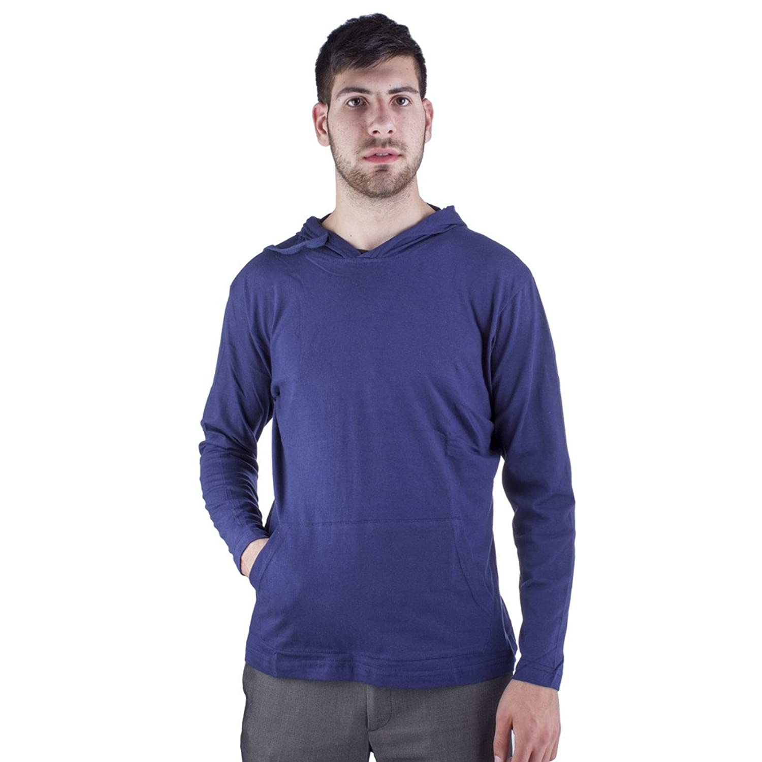 ARCTIC POLE Mens Tri Blend Long Sleeve Hoodie with Pockets Medium ...