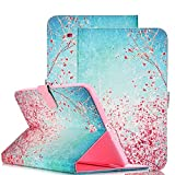 Galaxy Tab E 9.6 Case, iTrendz Cherry Blossom [Wallet][Card Slot][Book Folio] Slim Flip Leather Case Stand Cover For Samsung Galaxy Tab E 9.6 SM-T560 Tablet