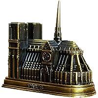 Lega in Miniatura Cattedrale di Notre Dame Modello - in Lega di Zinco Artigianato Chiesa Modello 3D Metallo Modello Ornamenti Decorazioni Souvenir Regalo per Uomini Donne Ragazze Ragazzi