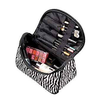 c367c8bec539 HHE Cosmetic Case Bag Appropriate Capacity Portable Women Makeup Cosmetic  Bags Storage Bags for...