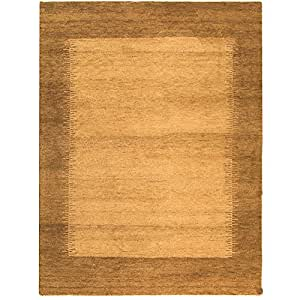Safavieh Gabbeh Collection GB127D Hand-Knotted Multicolored Premium Wool Area Rug (5' x 8')