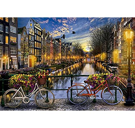 Educa Borras - Genuine Puzzles, Puzzle 2.000 piezas, Ámsterdam ...