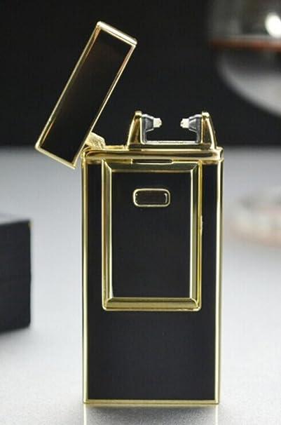 Utrolig Amazon.com: Windproof Flameless Electronic Pulse Arc Cigarette WY-34
