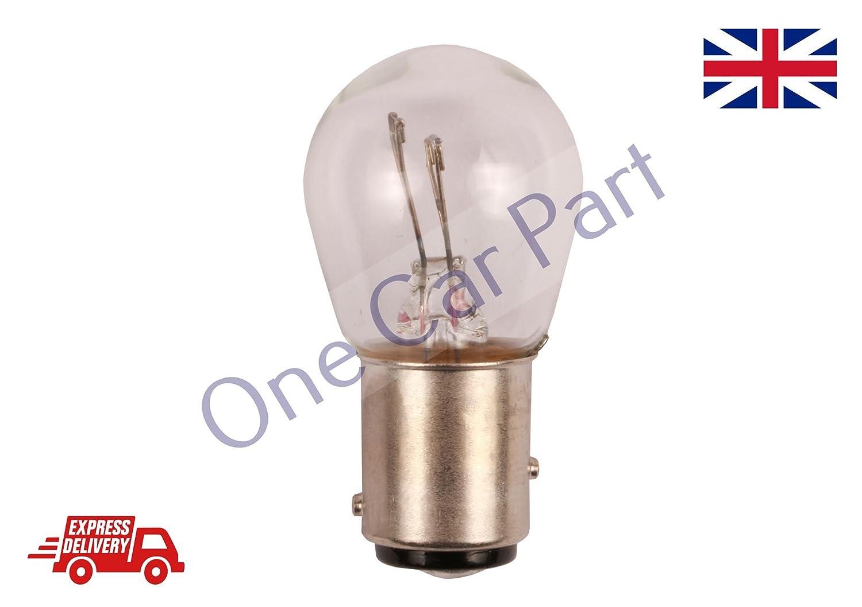 10 x 380 12v 21//5W BAY15D Bulbs Twin