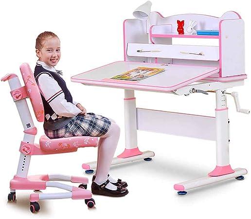 Sedie da scrivania Tavolo da Studio per Bambini e Sedia