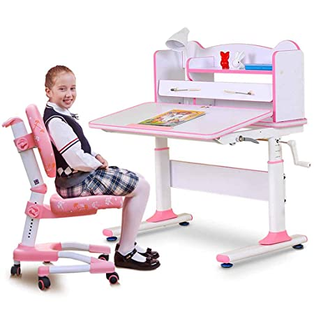 Mesa de Estudio para niños y combinación de Silla en casa Elevador ...