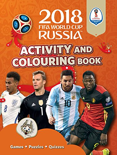 2018 FIFA World Cup Russia™ Activity and Colouring Book