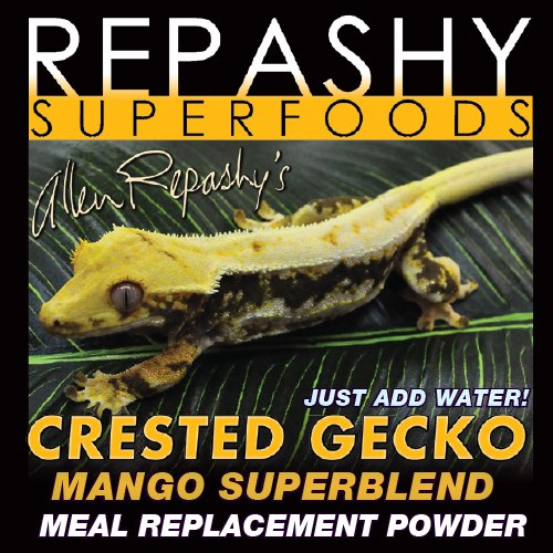 Repashy Crested Gecko MRP Diet - Food 'Mango' Superblend 12 Oz (3/4 lb) 340g JAR