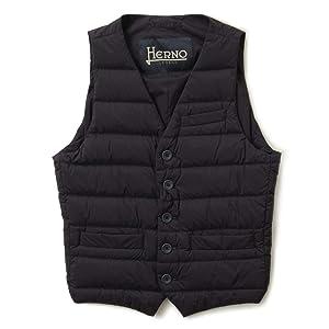 HERNO ヘルノ ダウンベスト インナー PI002ULE 9200/ネイビー 44