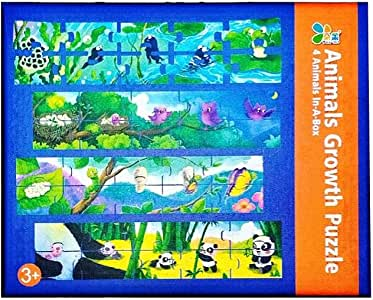 Animal Growth puzzles Game For Childs